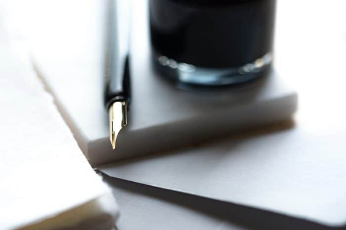 So, alles bereit: Auf zum schönen Handschrift-Schreiben!